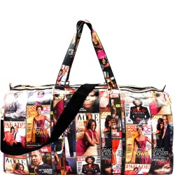 Obama Magazine Print Weekend Duffel Bag