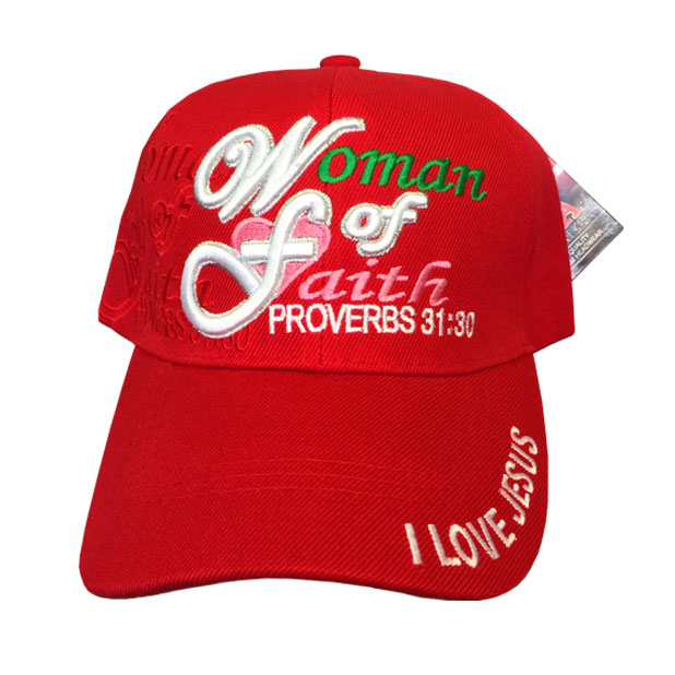 5522ac53175 Woman of Faith Proverbs 31 30 Adjustable Baseball Cap